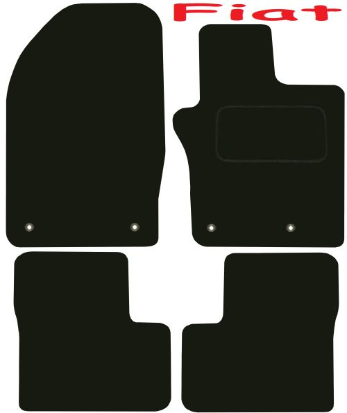 Fiat 500X Tailored Deluxe Quality Car Mats 2015-2017